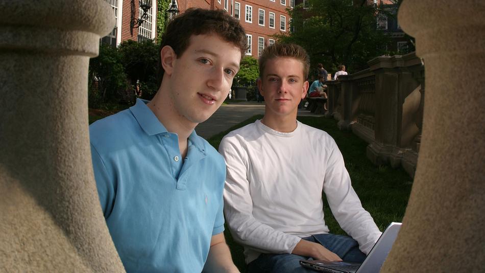 Zuckerberg e Hughes